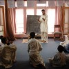 Jalalabad: Deaf students sit down to their daily lesson