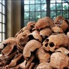 Oudong: The bones of genocide victims serve as a memorial to the victims of the Khmer Rouge