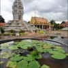 Phnom Penh: Lilypads at the Silver Pagoda