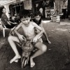 Phnom Penh: Children play on the streets of the capital