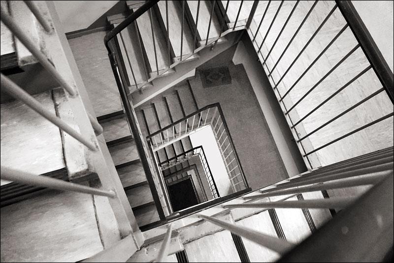 tower block stairwell