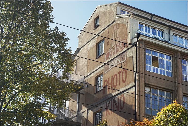 the old VEB Zeiss Ikon Dresden factory