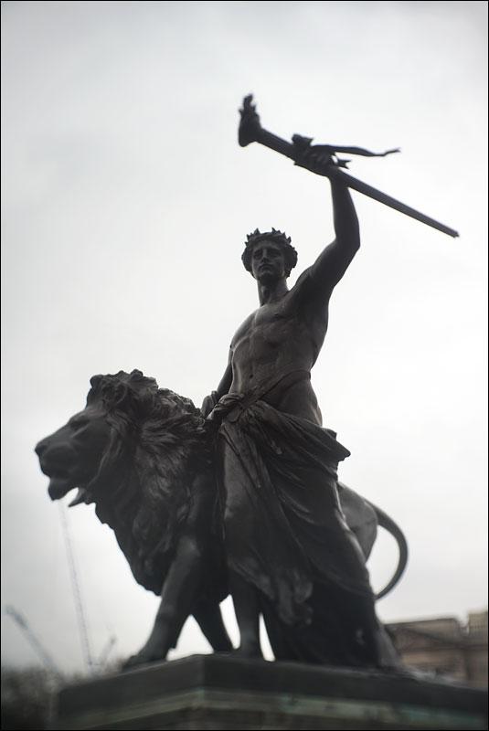 Prometheus by Thomas Brock