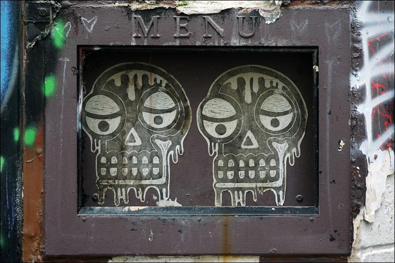 les deux crânes