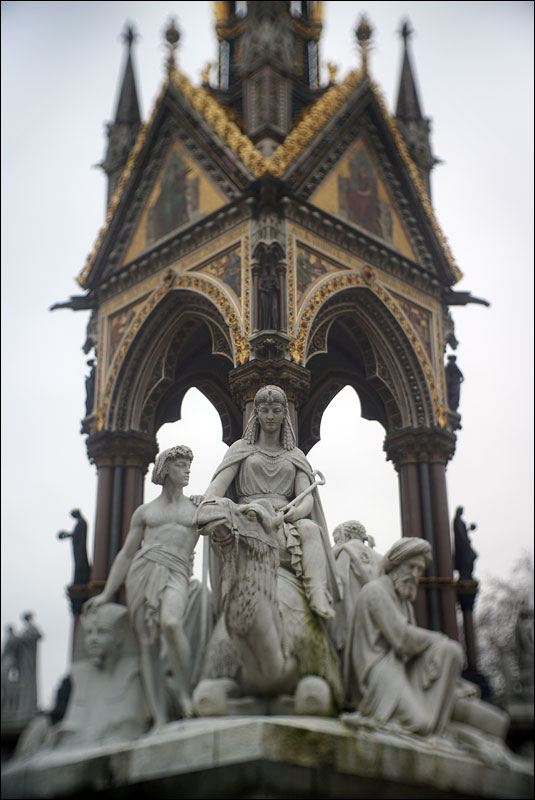 Africa by William Theed at the Albert Memorial