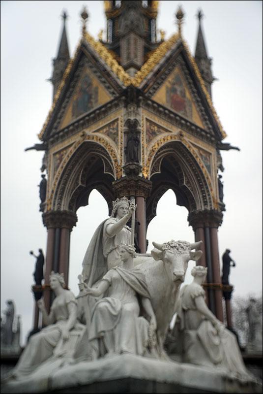 Europe by Patrick MacDowell at the Albert Memorial